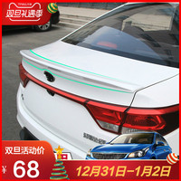 For KIA RIO 2017 2018 high quality ABS Material Car Wing Primer and lacquer Color Spoiler Modification spoile