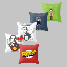 Cushion Cover The Big Bang Theory Pillowcase Polyester Chair Seat Sofa Home Decorative Throw Pillow Cover Cojines