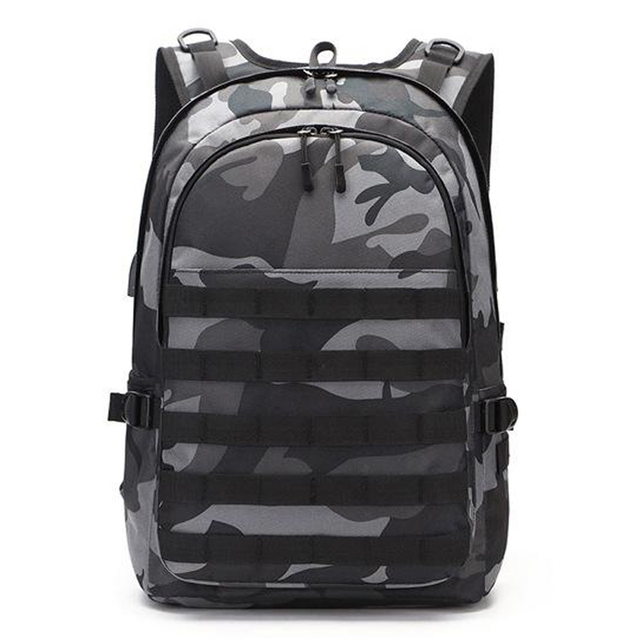 Backpack Camouflage Travel Canvas