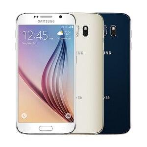 Image 2 - Mở Khóa Chính Hãng Samsung Galaxy S6 G920F/V/Điện Thoại Octa Core RAM 3GB Rom 32GB LTE WCDMA 16MP 5.1 Inch Wi Fi Điện Thoại Thông Minh Android