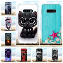 For Samsung Galaxy S10e Case Soft TPU G970F G970U G970W Cover Cartoon Patterned Funda