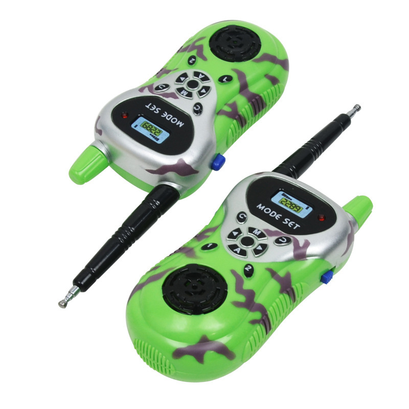 Simulation Electronic Walkie-talkie Toy Children's Playing House Kids's Remote Intelligent Wireless Walkie Talkies Classic Toys