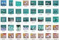 бесплатная доставка проблемка серьги, оптовая продажа мода украшения e06