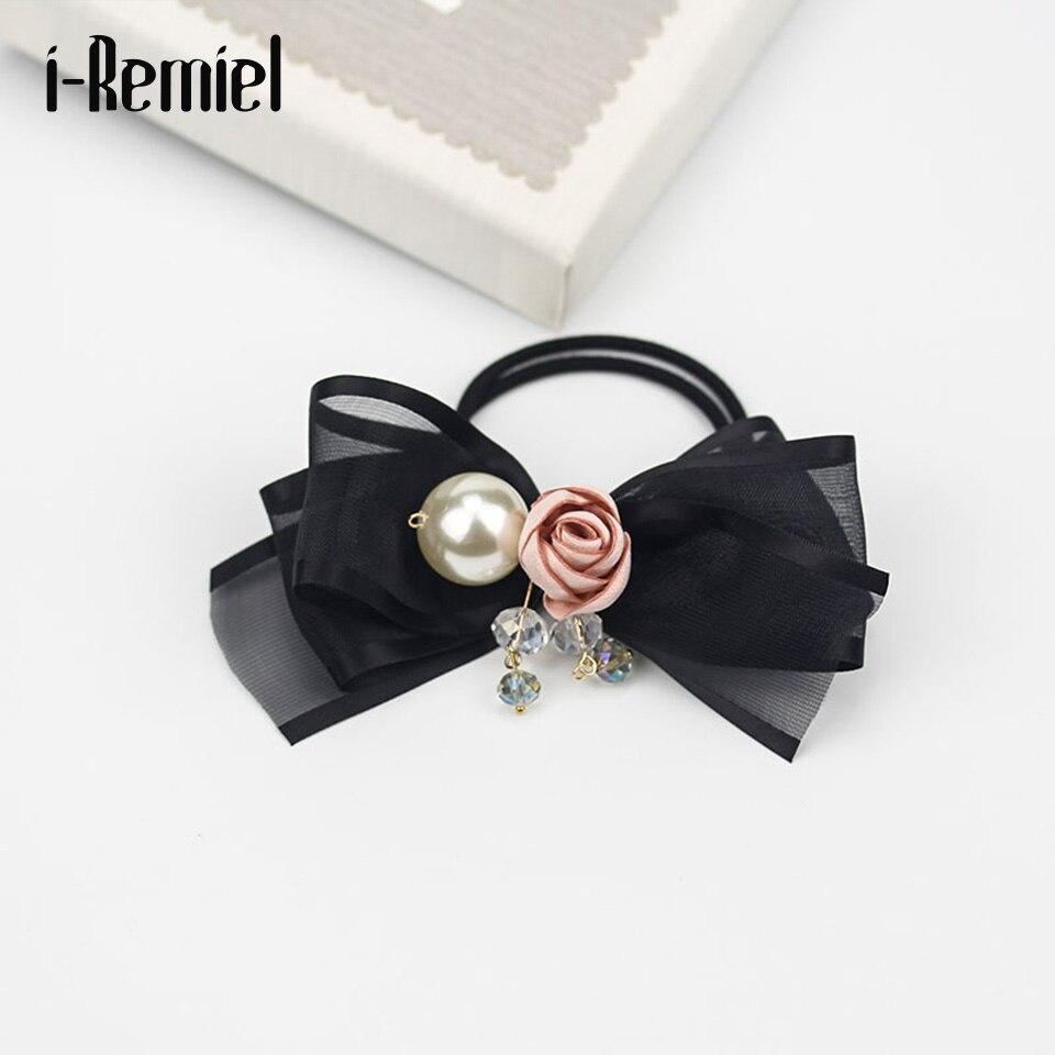 i-Remiel Fashion Cloth Butterfly Hair Strip Headbands For Girls Turban Women Flower Hair Clip Fascinator Hair Accessories