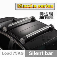 SHITURUI For Mazda CX 5 CX 7 CX 9 ultra quiet truck roof bar car special aluminum alloy belt lock cx7 cx9