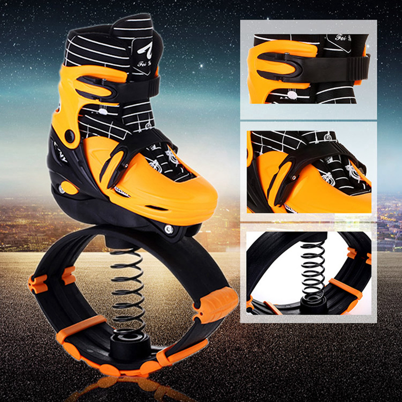 2017 Nouveau Saut saut Chaussures 2in1 Rouleau Skate Rebond Chaussures Enfants Adolescent Adultes Sports de Plein Air Fitness Chaussures - 4