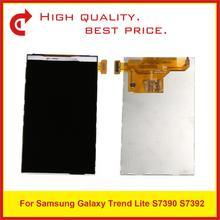 """10 teile/los 4,0 """"Für Samsung Galaxy Trend Lite S7390 S7392 Lcd Display Bildschirm S7390 7390 7392 LCD Display Ersatz"""