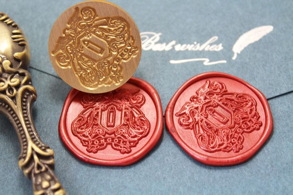 New HITMAN REBORN Vongola Family wax seal Metal head DIY Scrapbooking Sealing wax stamp copper head, Vintage Gift high quality