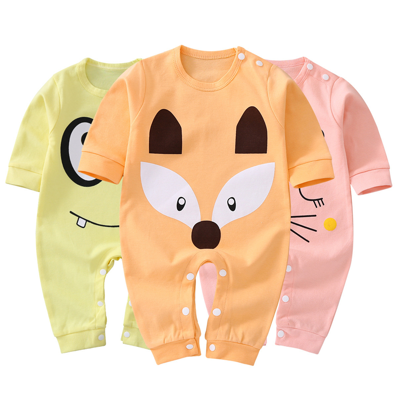 Baby Boy Spring Summer Clothes Girl Rompers 2018 Cotton New Born Baby Clothes Infant Romper Toddler Jumpsuit Kids Bathing Suits toddler baby cactus romper infant girl boy cute cotton clothes rompers jumpsuit playsuit outfits