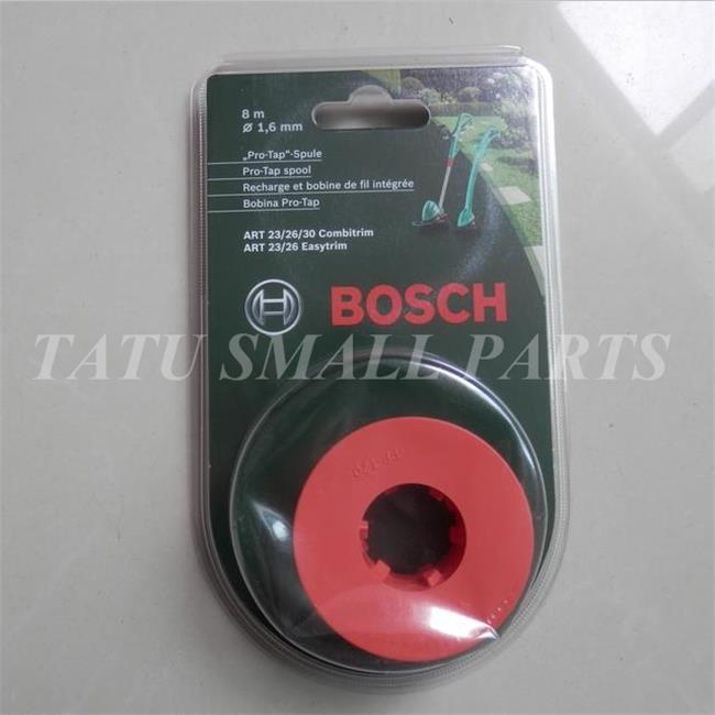 2X TRIMMER NYLON LINE HEAD FOR  ART23 ART26 ART30 COMBITRIM EASYTRIM  8M*1.6 MM STRIMMER PROTAP SPOOL LINE леска для триммера bosch art 26 combitrim 10 шт