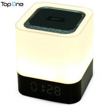 MUSKY DY28 Portable Bluetooth Speaker Stereo Support TF Card Handsfree AUX Input LED Time Display Alarm Mode for Mobile Phone PC(China)