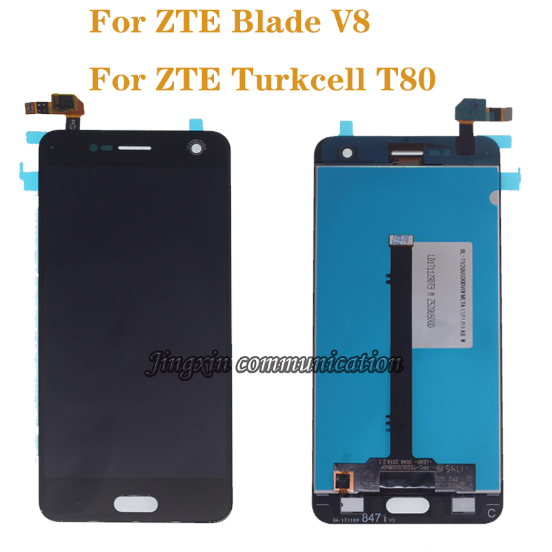 "5.2"" for ZTE Blade V8 LCD + touch screen digitizer assembly display accessories for ZTE Turkcell T80 BV0800 LCD components-in Mobile Phone LCD Screens from Cellphones & Telecommunications"