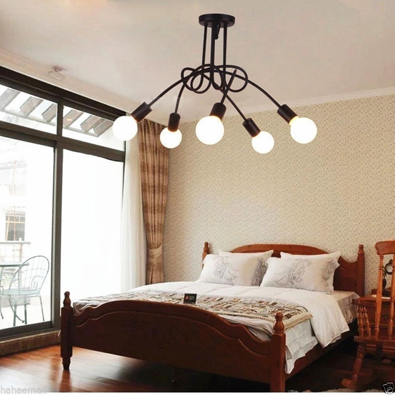 Retro E27 LED Pendant Light Restaurant American Style Living Room Study Bedroom Personality Clothing Store Lamp chinese style classical wooden sheepskin pendant light living room lights bedroom lamp restaurant lamp restaurant lights