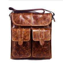 цены Genuine Leather bag Men leather Bags Messenger Bag  Male Man Casual tote Shoulder Crossbody bags Handbags  LJ-0770