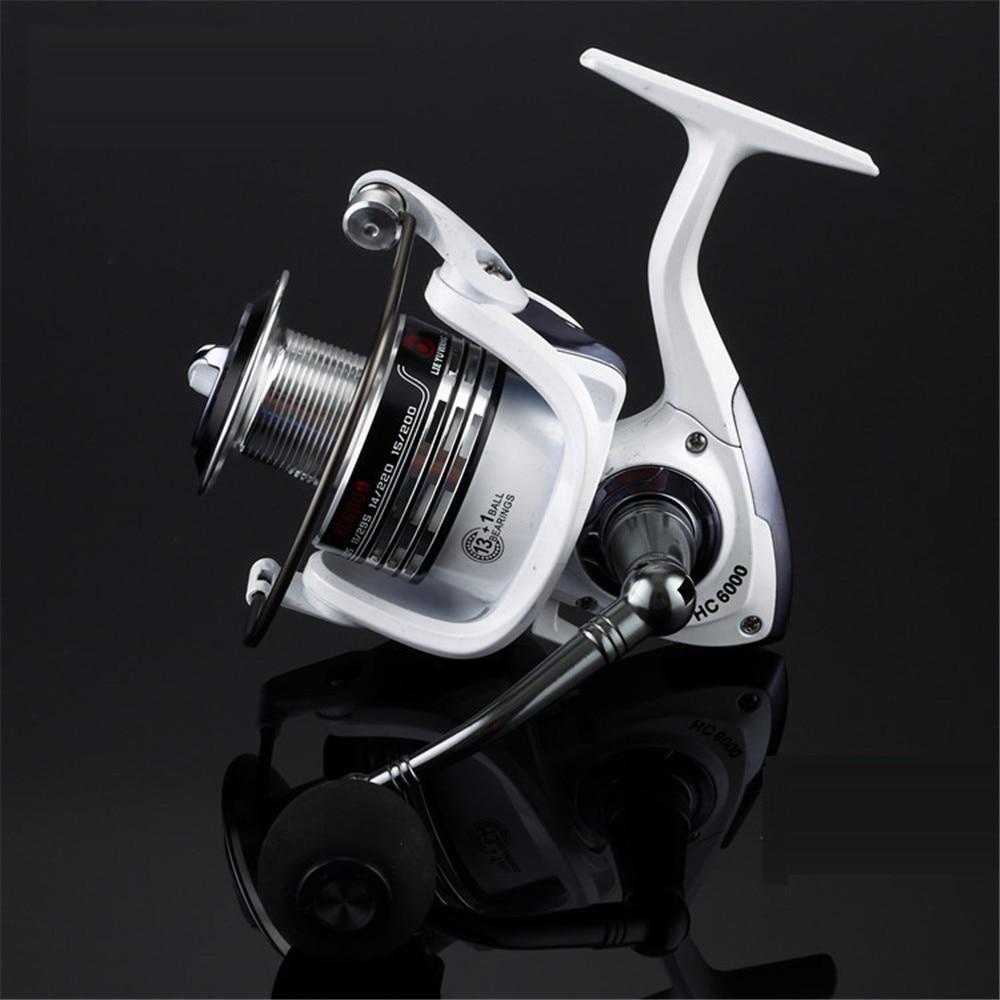 Full Metal Line Cup Fishing Reel Pre-Loading Spinning Wheel 2000 - 5000 Series 13+1 BB Soft Handle Fish Wheel Fake Bait цена 2017