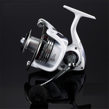 Full Metal Line Cup Fishing Reel Pre-Loading Spinning Wheel 2000 – 5000 Series 13+1 BB Soft  Handle Fish Wheel Fake Bait