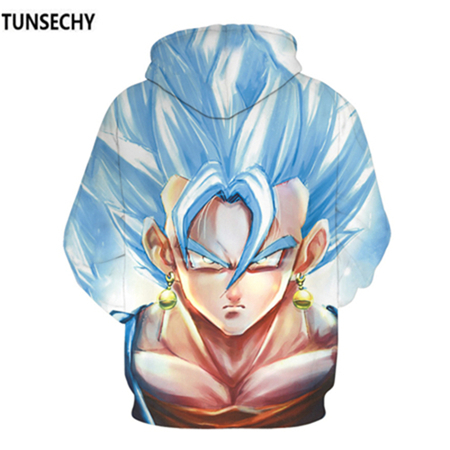 TUNSECHY Brand Dragon Ball 3D Hoodie Sweatshirts Men Women Hoodie Dragon Ball Z Anime Fashion Casual Tracksuits Boy Hooded 17