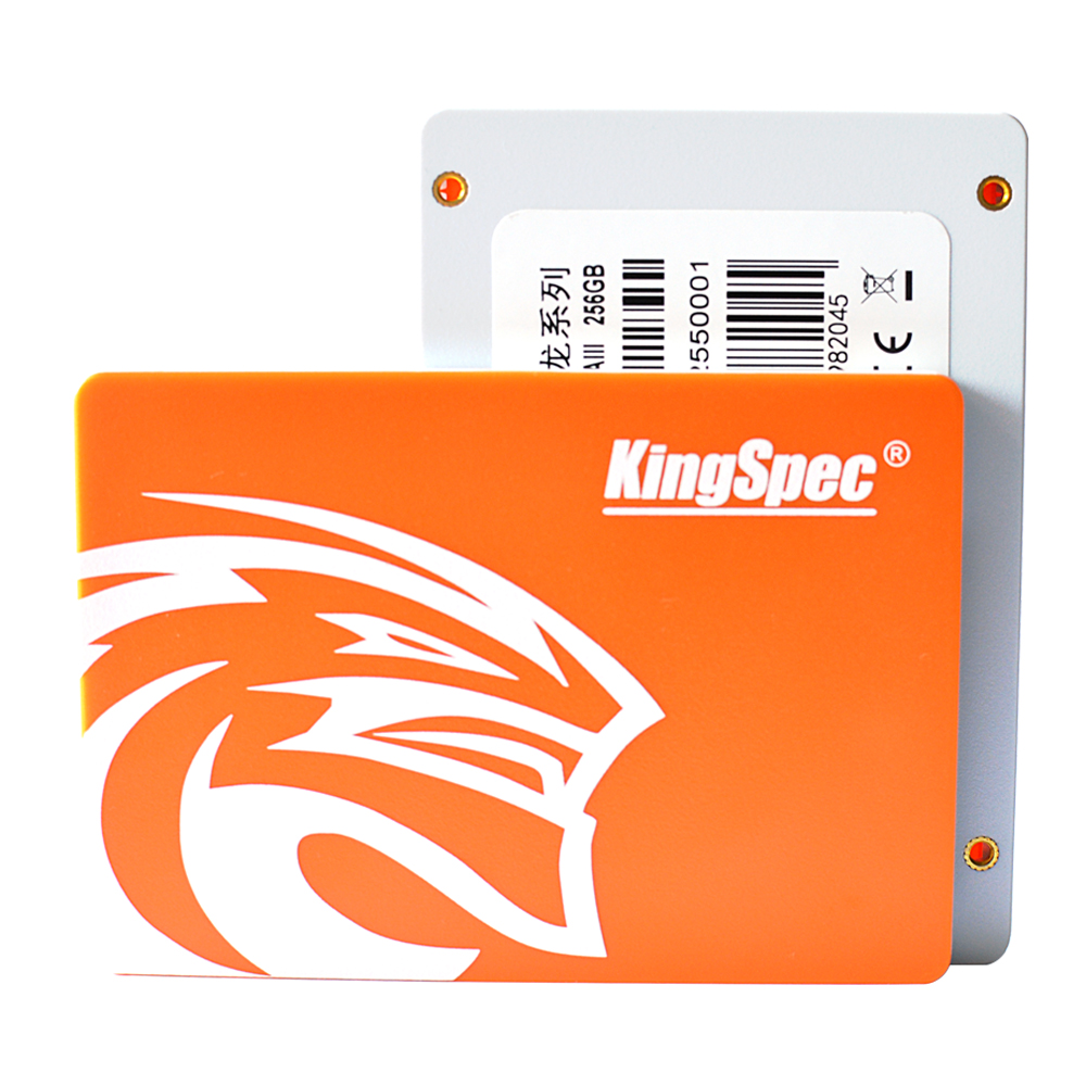 kingspec 7mm Super Slim 2.5 Inch SSD SATA III 6GB/S SATA II SSD 256GB Solid State Drive SSD ssd hdd 240gb , with cahce:25mb image
