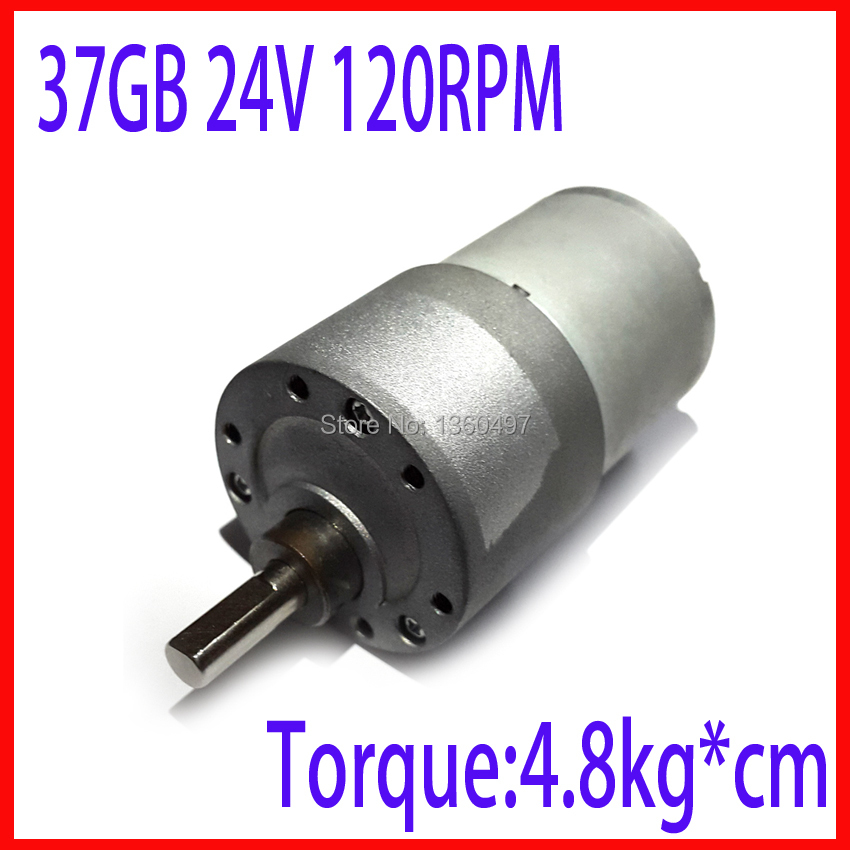 Buy 37gb 37mm 24v 120rpm electric boat for Most powerful electric motor