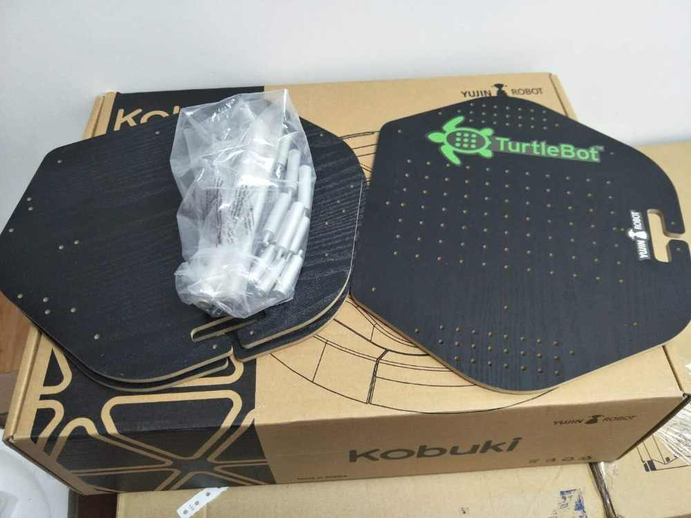 Korea YUJIN ROBOT ROS robot suite (TurtleBot 2/kobuki chassis) open source  mobile chassis R&D Platform Kit Smart Remote