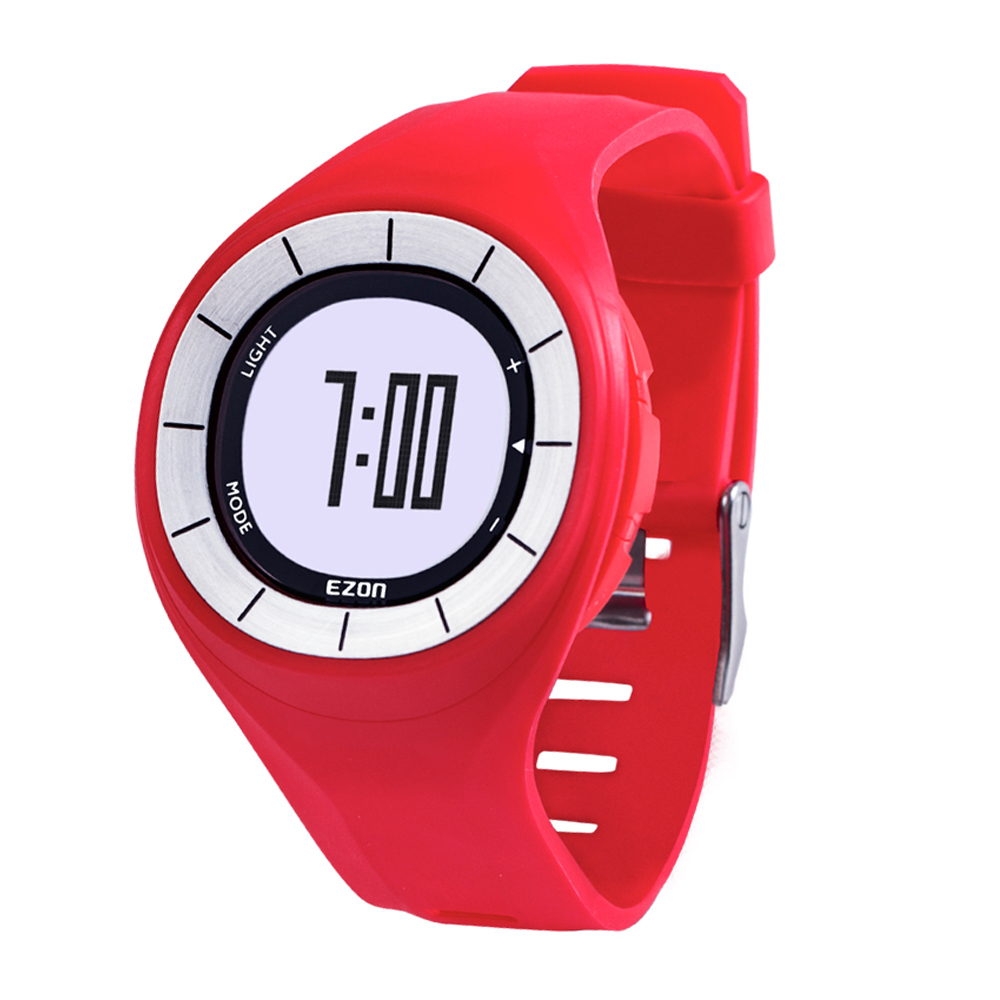ezon watch T028B01 T028B11 T028B18 Pedometer sports running trainning smart digital watches цена и фото