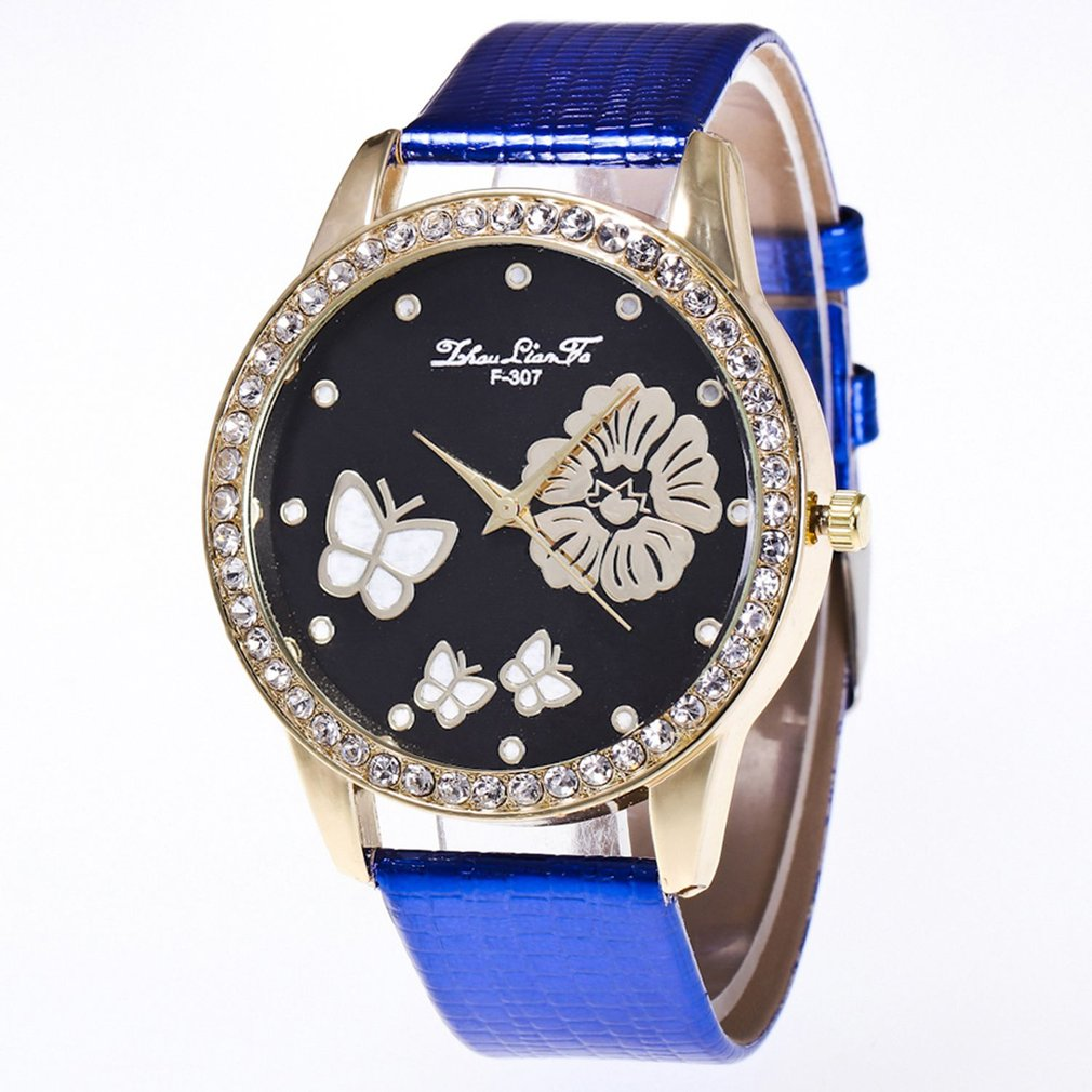 Newly Fashion Simple Classical Designed Luxury Quartz Watch Men Women Famous Brand Gold Leather Band Wrist Watches Gift