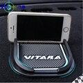 Phone Holder For Suzuki Vitara 2015 2016 Cars Super Sticky Pad Anti-Slip Mat For Car Phone GPS Black Car Accessories Stickers