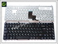 2pc/lot Russian Keyboard for DNS C5500 W765K W76T 118732 Clevo K107 RU Black laptop keyboard