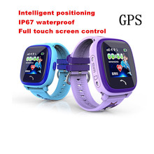Smart Watch 1.22″ HD Touch Screen Color Display GPS Tracker SOS IP67 Level for IOS Andrid System Waterproof Kids SmartWatch