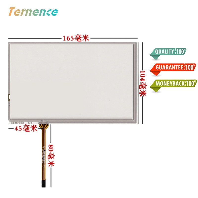 Skylarpu New 7 Inch 165mm*104mm Touchscsreen For Innolux AT070TN83 V.1 Touch Screen Panel Handwriting Man-machine Interface