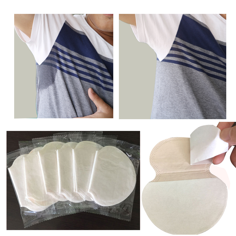 50pc Underarm Sweat Pads For Clothing Pads Sweating Perspiration Shield Stickers Absorbing Anti Pads Sweating The Antiperspirant