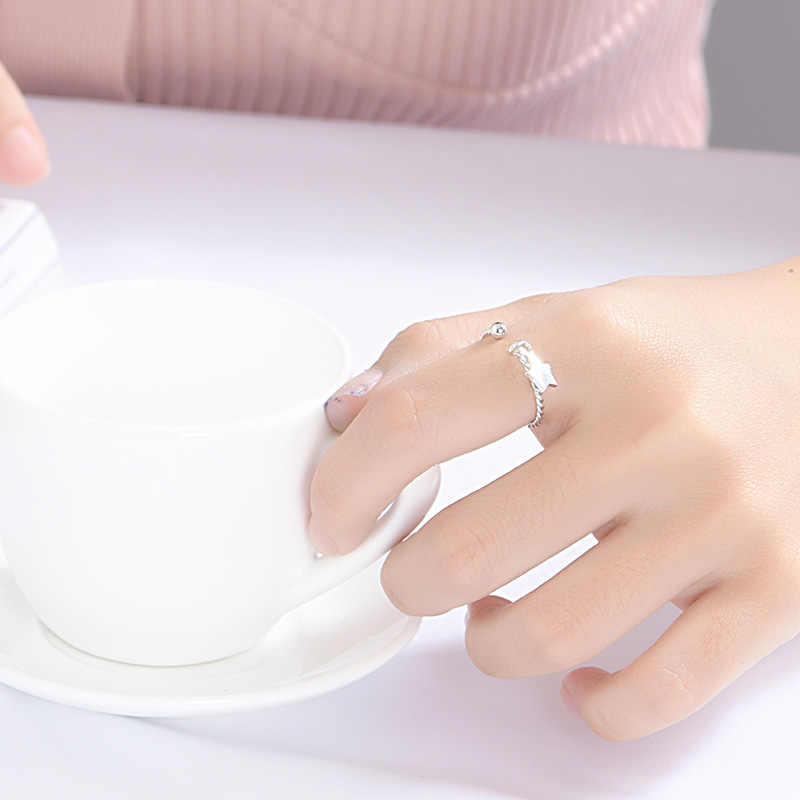 100% Настоящее серебро 925 пробы кольца для женщин Свадебные Anelli модные ювелирные изделия вечерние Обручальные кольца