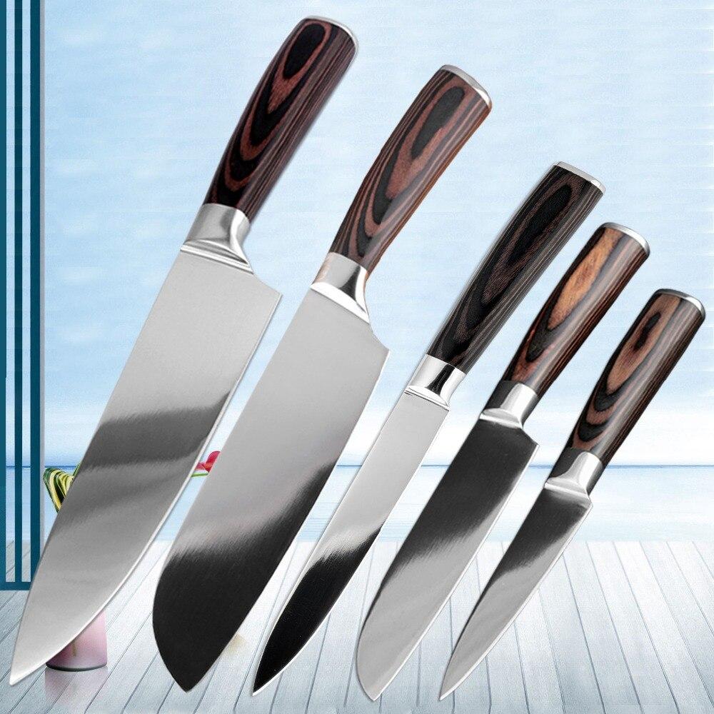XITUO מטבח סכיני קילוף שירות שף Santoku חיתוך קופיץ נירוסטה סכיני חדש סשימי מטבח כלים אביזרי הו