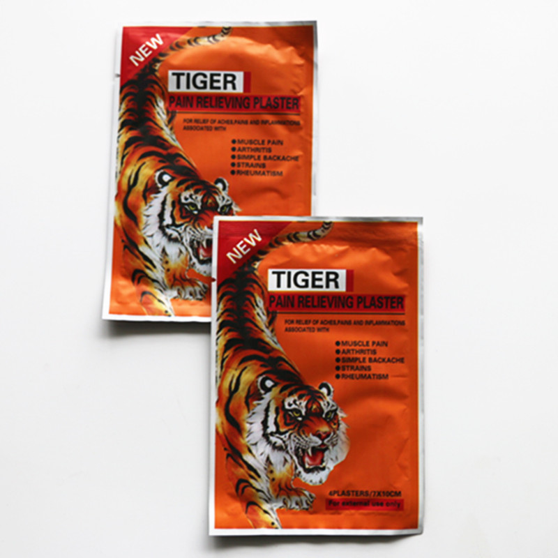 10bags=40pcs/lot Hot Sale Manufacturer Tiger Balm Plaster Shoulder Pain Relieving Patch Health Care