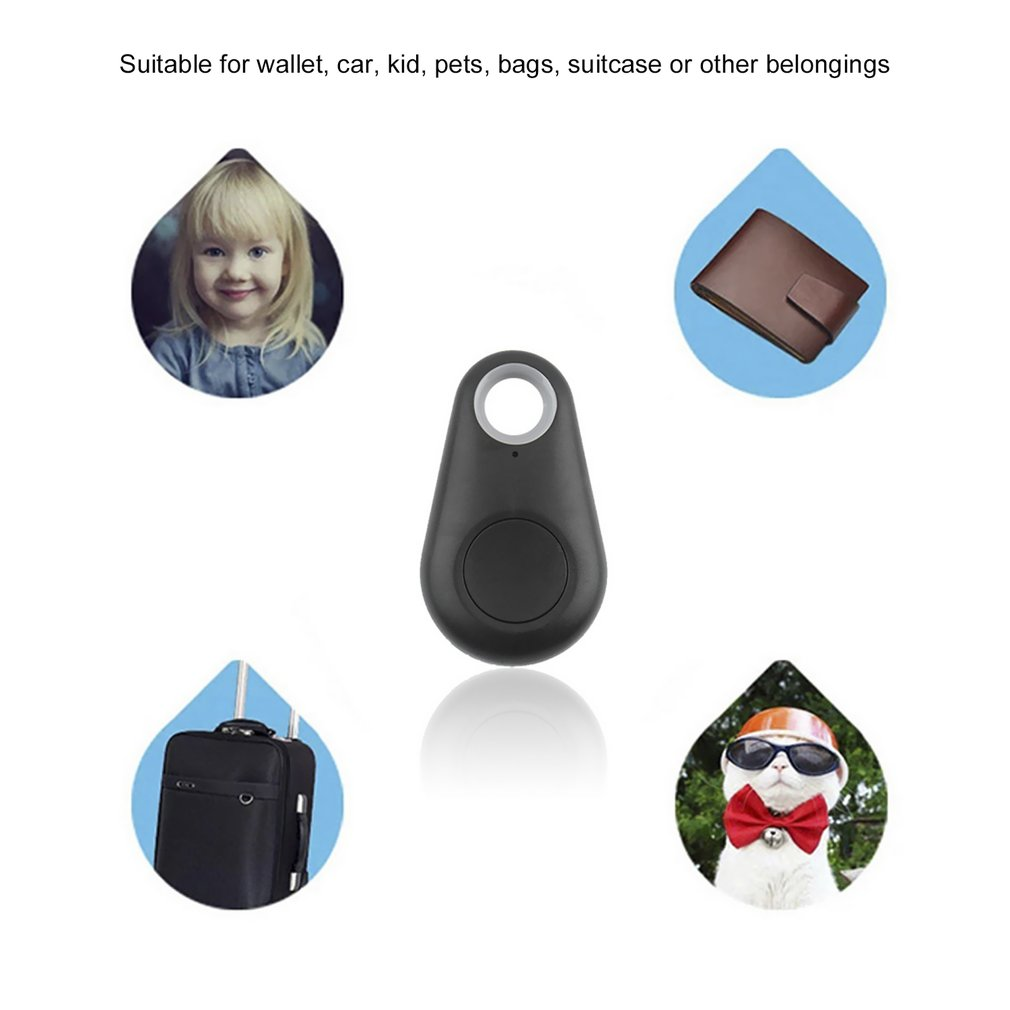 Portable Size Smart Bluetooth 4.0 Tracer Locator Tag Alarm Wallet Key Pet Dog Tracker Child Gps Locator Key Tracker Hot Durable Modeling Automobiles & Motorcycles