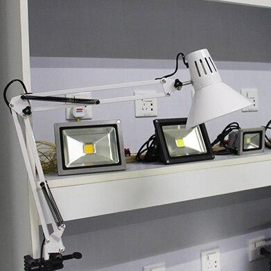 Американский стиль складной настольная лампа LED творческий глаз более длинная рука настольная лампа спальня прикроватные учиться и работать читать