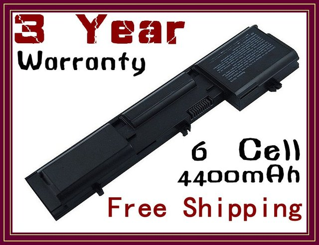 6 Cell Laptop Battery for d410, 4400mAh, 11.1V, FREE SHIPPING 3 Year Warranty