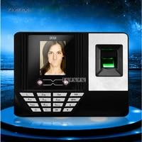 Df310 face recognition comparecimento impressão digital perfurador cartão de reconhecimento rosto máquina sinal escova rosto para trabalhar perfurador tela 2.8 polegada