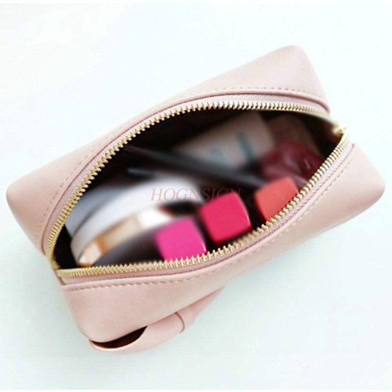 Makeup Bags Simple Portable Small Carry On Hand With Cosmetic Storage Bag Girl Heart Cosmetics Package Toiletry Travel in Eye Shadow Applicator from Beauty Health