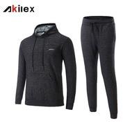 High Quality Running Hoodies Sets Unisex Fitness Sportwear Brand Men Sport Suit Outdoor Sports Wear Long