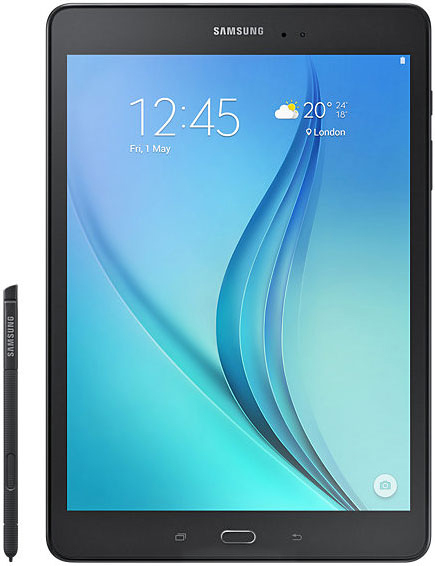 Samsung Galaxy Tab Un 9.7 pouces & S Stylo P550 tablette wifi PC 2 GB RAM 16 GB ROM Quad- core 6000 mAh 5MP Caméra Android Tablet