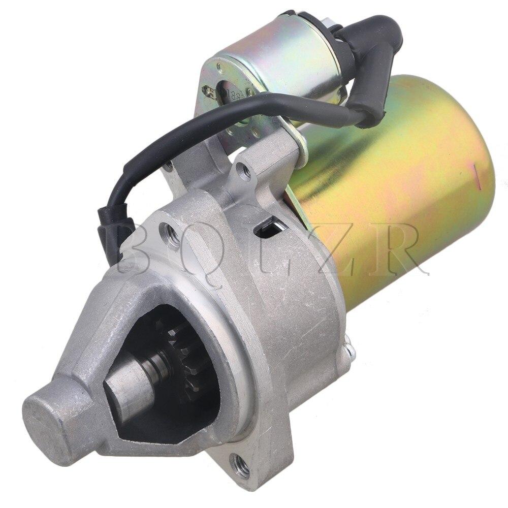BQLZR Gasoline Engine Starter Motor for 188 Model 188F GX340 GX390 Generator