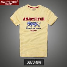 High Quality  T-Shirts 100% Cotton Men's Short Sleeve T shirts Man Tees & Tops Casual Tees For male T-shirt S-XXL цена и фото