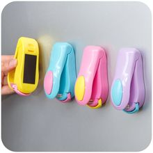 Portable Bag Clips Handheld Mini Electric Heat Sealing Machine Impulse Sealer Seal Packing Plastic Bag Clip Work with Battery(China)