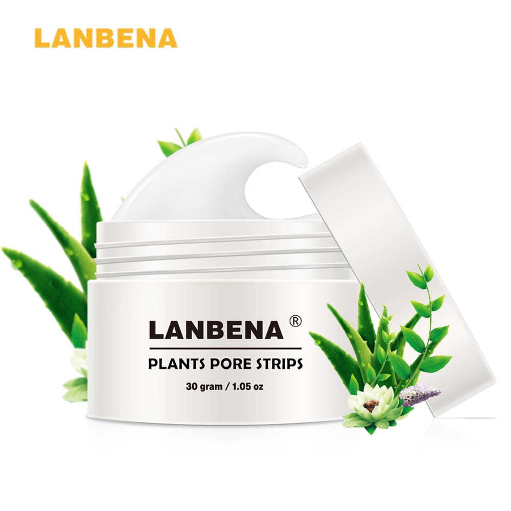 LANBENA Neue Stil Mitesser Entferner Nase Maske Poren Streifen Schwarz Maske Peeling Akne Behandlung Schwarz Tiefe Reinigung Hautpflege korea