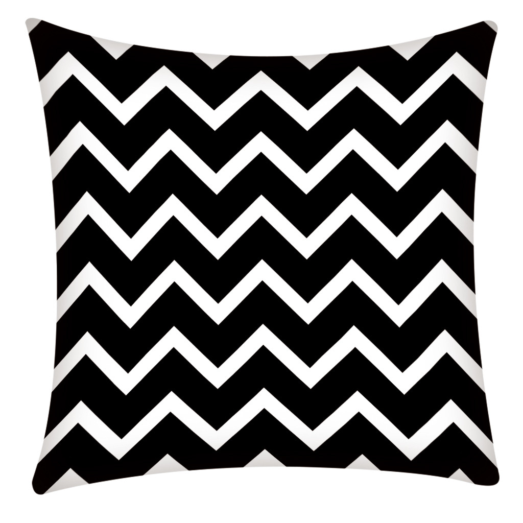Image 4 - Print Pillowcase Polyester Sofa Car Cushion Cover Home Decor 45X45cm Home Decor Kussenhoes Housse de Coussin Pillow Cojine Hot-in Cushion Cover from Home & Garden