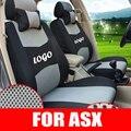 Tampas de assento para mitsubishi asx tampa do carro assentos acessórios malha conjunto tampa de assento do estilo do carro decorativo capas de almofada do assento de carro