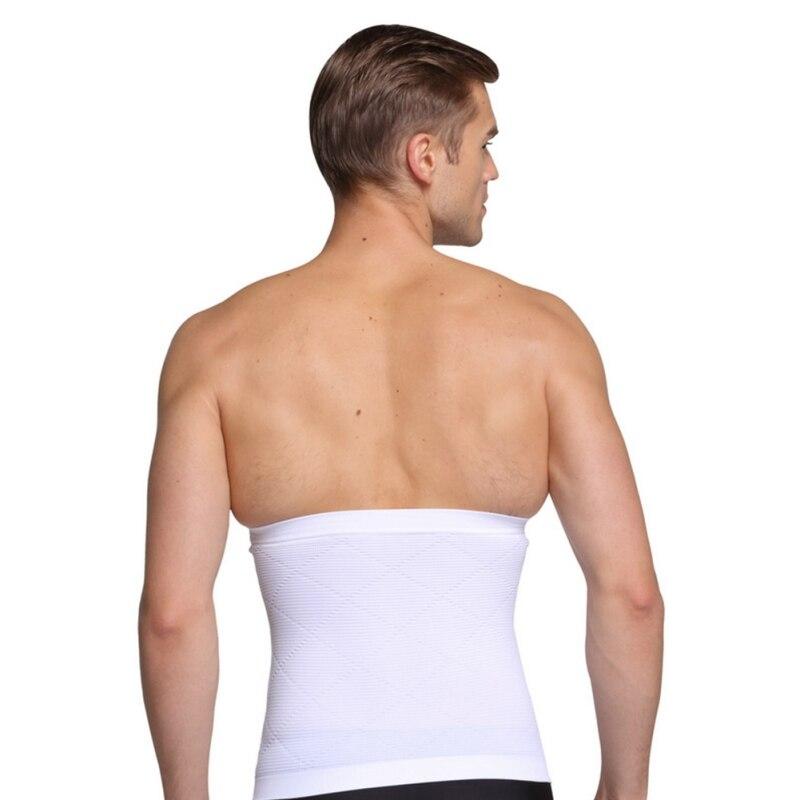 5f24b8b973f Men Sport Waist Spport Breathable Fiber Belt Abdominal Waist Support ...