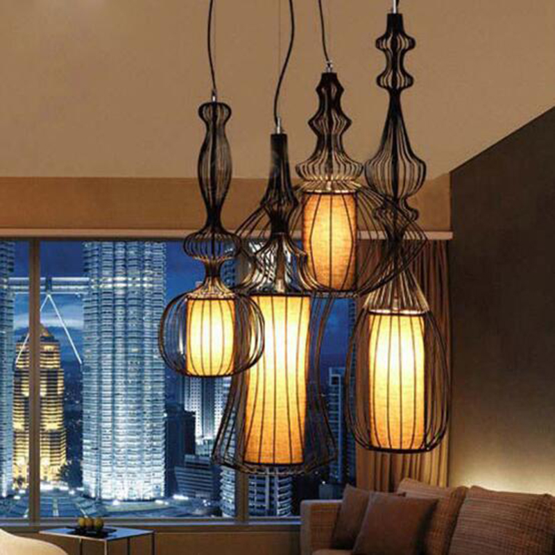 Industrial Ceiling Lights Design Luces Del Techo Luminarias Modern Living Room Light Fittings Bedroom Dining