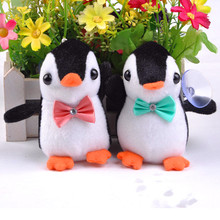 10cm Cute Penguin Plush Toy Cartoon Stuffed Animals Penguin Dolls Small Pendant Super Soft Kid's Toy Birthday Gift